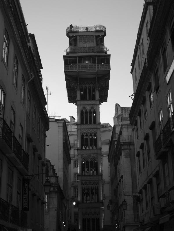 Lisbon Santa Just Lift