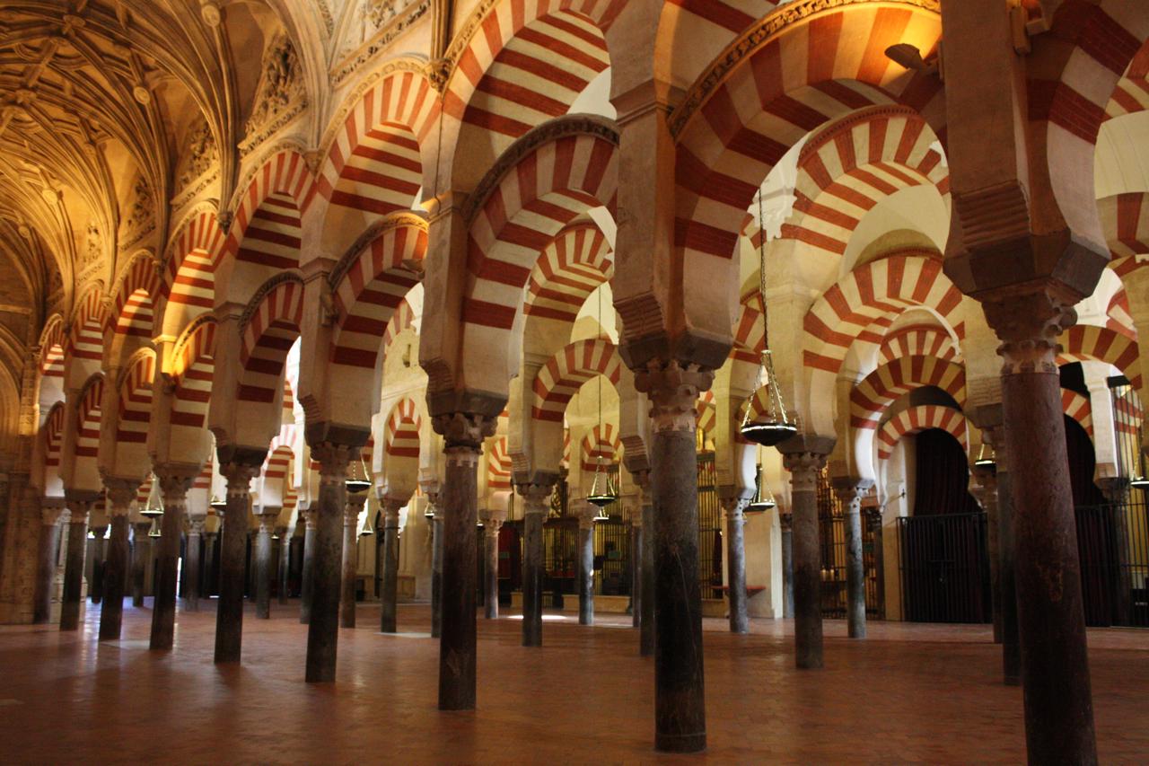 Illuminating C 243 Rdoba Cathedral Oblique Exposure