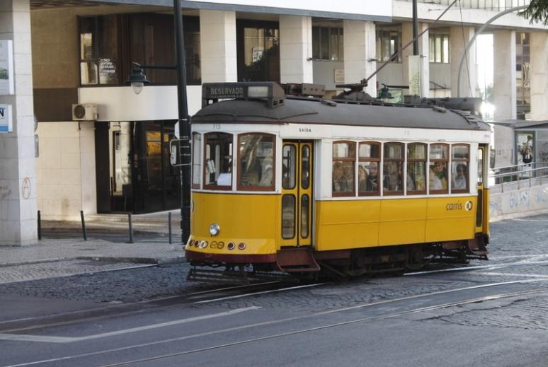 Tram Lisbon 01