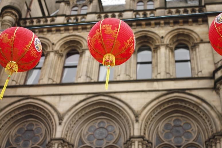Chinese Balloons Bokeh