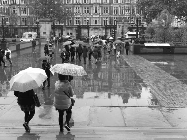 British Museum Rain
