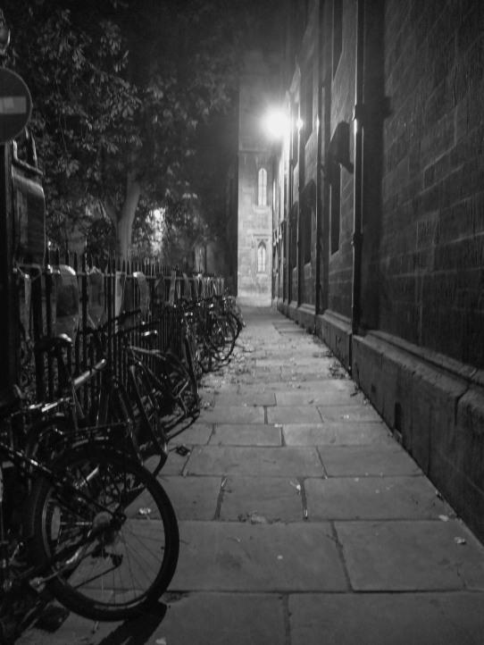 Cambridge alley