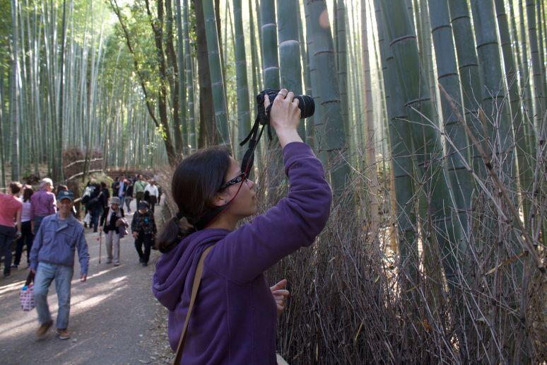 Jennifer Ferreira in Japan