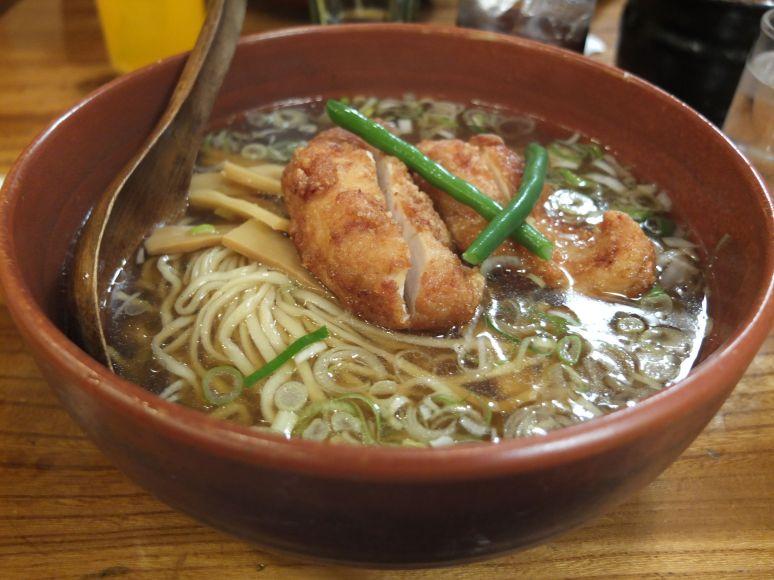 Chicken Ramen Japan Tokyo