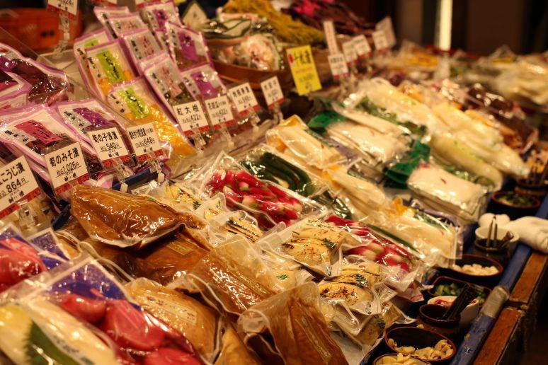 Nishiki Food Market Kyoto Japan