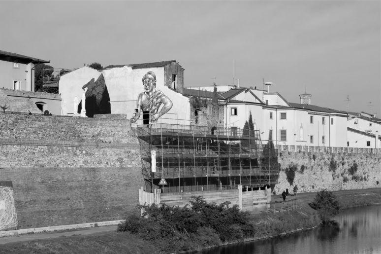 Prato Italy Black and White