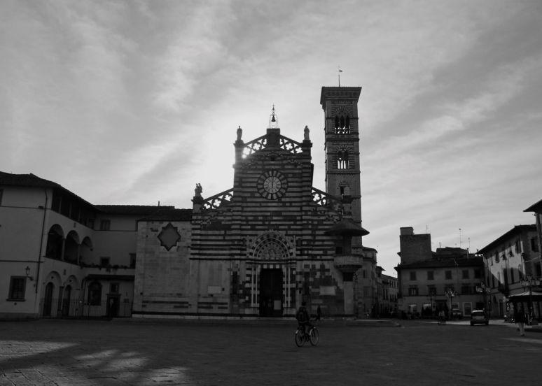 Prato Italy Black and White