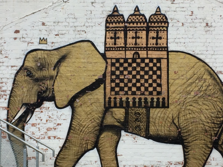 Elephant Fargo Village Coventry Street Art